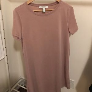 Forever 21 pink size M tshirt dress